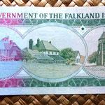 Islas Malvinas 10 pounds 1986 reverso