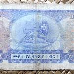 Etiopía 100 dólares 1961 reverso