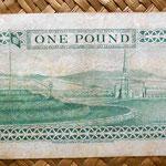 Isla de Man 1 pound 1979 reverso