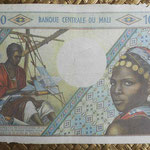 Mali 10000 francos 1970-84 (170x112mm) pk.15f anverso