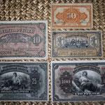 Rusia serie rublos Lejano Oriente -Gob. Provisional Priamur 1920 anversos