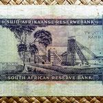 Sudáfrica 20 rand 1962 reverso
