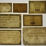 Francia livres s. XVIII marcas de agua