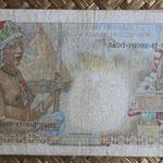 San Pedro y Miguelón 50 francos 1950-1960 pk. 25 reverso