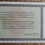 Alemania bono 5 Reichsmark -jewish notes- 1933 (190x110mm) pk.199 reverso