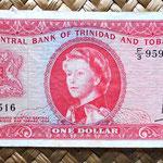 Trinidad y Tobago 1 dollar 1964 anverso
