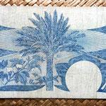 Yemen Democratic Republic 1 dinar 1965 (152x88mm)  reverso
