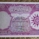 Irak 5 dinares 1959 (165x84mm) pk.54a anverso
