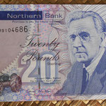 Irlanda del Norte 20 libras 2011 Northern Bank (150x80mm) pk.211b anverso