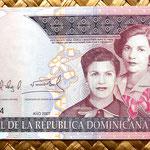 República Dominicana 200 pesos oro 2007 anverso