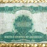 Dominio de Canadá 25 centavos 1870 reverso