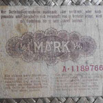 Alemania ocup. Kowno WWI 0.5 mark 1918 (110x68mm) pk.R127 reverso
