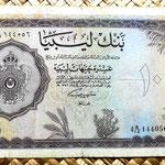 Libia 10 libras 1963 anverso
