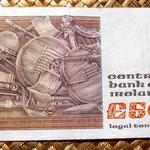 Irlanda 50 pounds 1982 reverso