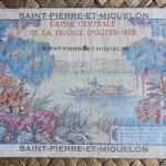 San Pedro y Miguelón 10 francos 1950-1960 pk.23 reverso