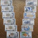 Escocia 5 pounds 1997-2014 Conmemorativos Royal Bank anversos-reversos