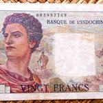 Nueva Caledonia 20 francos 1951 anverso