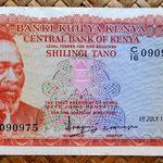 Kenia 5 shilingis 1978 (134x69mm) anverso