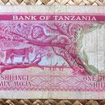 Tanzania 100 shillings 1966 reverso