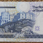 Escocia 5 pounds 2005 Royal Bank Conmemorativo RCS pk.364 reverso