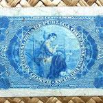 Uruguay 10 centésimos de peso 1887 reverso