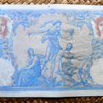 Argelia colonial 1000 francos 1892 reverso