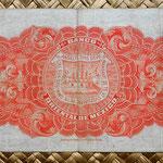 México, 5 pesos 1910, Banco Oriental -Puebla reverso