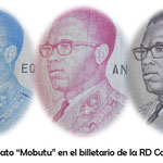 Mobutu Sese Seko en el billetario y filatelia de RD Congo y Zaire por TDLR