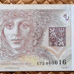 Chequia 500 korun 1997 reverso