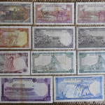 Zambia series Ngwee y Kwachas 1968-1973 reversos