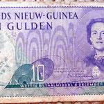 Nueva Guinea holandesa 10 gulden 1954 anverso
