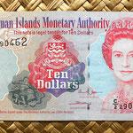 Islas Cayman 10 dollar 2005 anverso