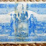 México, 10 pesos 1915 Estado libre y soberano de Sinaloa -San Blas reverso