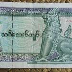 Myanmar 1000 kyats 2004 (150x69mm) pk.80 anverso