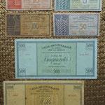 Grecia ocup. italiana WWII Serie dracmas 1941 -Cassa Mediterranea per la Grecia reversos