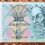 Chequia 100 korun 1997 anverso