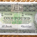 Australia 1 pound 1961 anverso