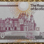 Escocia 100 pounds 1999 (169x94mm) pk.350c reverso
