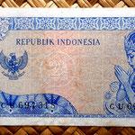 Indonesia 2'5 rupias 1964 pk. 81b reverso