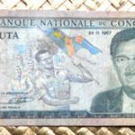 Congo 20 makutas 1967 anverso