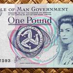 Isla de Man 1 pound 1991 anverso