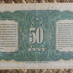 Indias Holandesas 0,50 gulden 1943 reverso