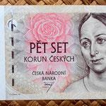 Chequia 500 korun 1997 anverso