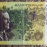 Australia 50 dollars 1973 pk.47a reverso