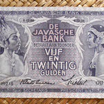Indias Orientales Holandesas 25 gulden 1938 anverso