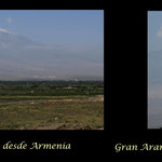 Montes Ararat desde Armenia -Khor Virap