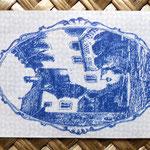 Liechtenstein 10 heller 1920 (70x45mm) reverso