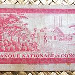 Congo 50 makutas 1970 reverso