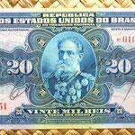 Brasil 20 mil reis 1936 (180x83mm) anverso