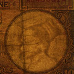Indochina 10 piastras 1947 pk.80 marca de agua